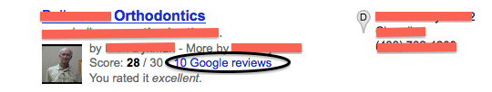 google-local-orthodontic-reviews