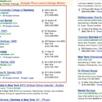 Google Plus Local Business Listings For Dentists In New York