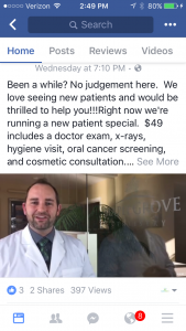 facebook-video-post-dental-client